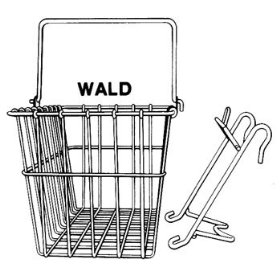 Wald 133 Bicycle Basket – Perfect transport for E.T.
