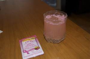 Drink Emergen-C Pink Lemonade and keep H1N1 Away